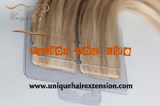 strong tape weft extensions