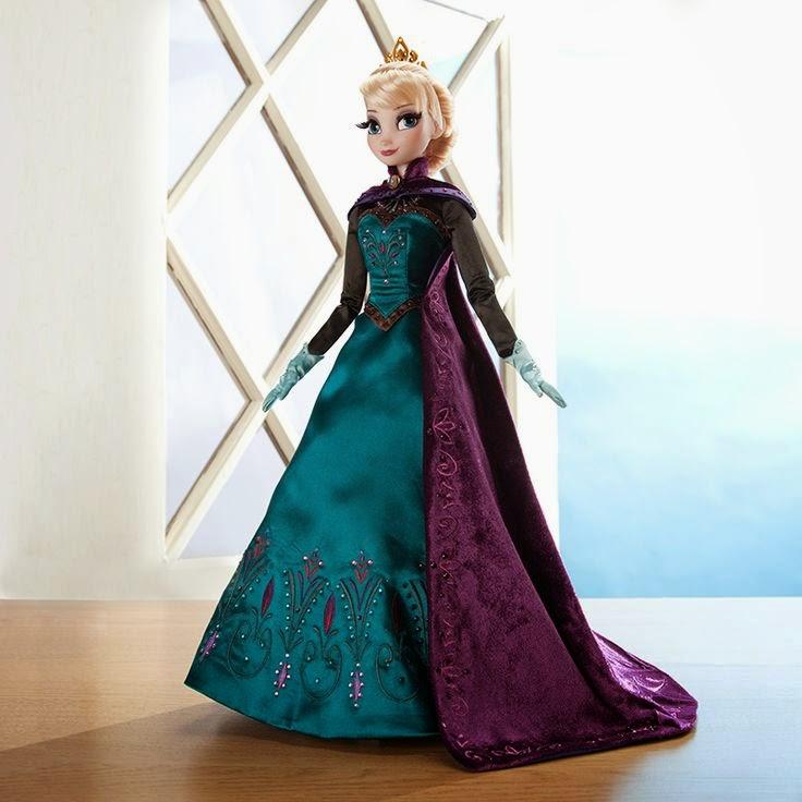 Gratis gambar boneka elsa frozen