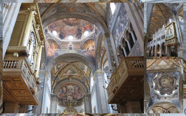 Day trip to Parma - Duomo interior
