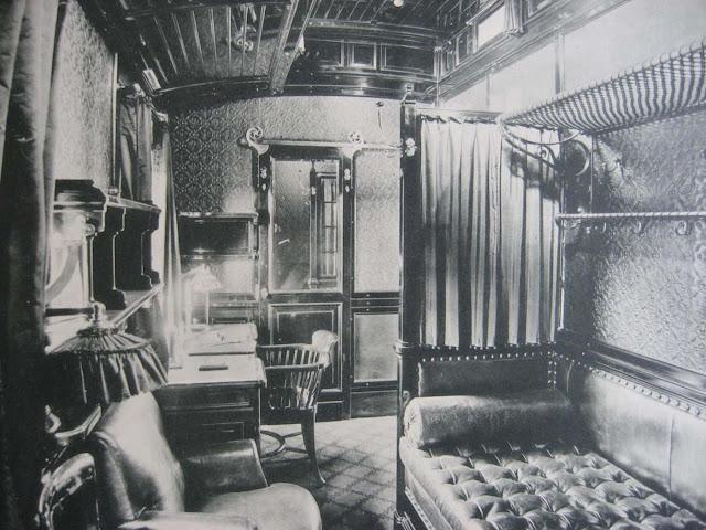 Fotografías del tren imperial de los Romanov