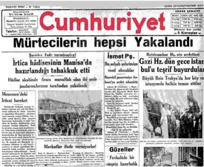 Örnek Bir Türk Subayı: Kahraman Kubilay