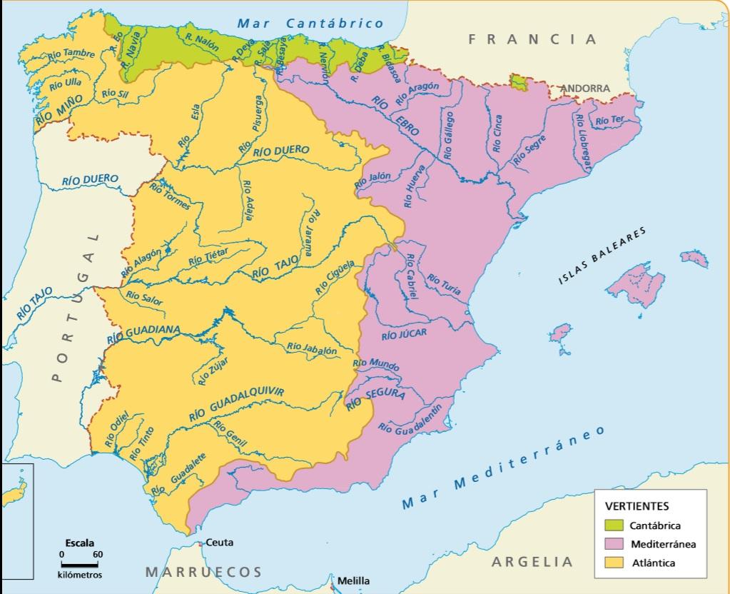 Resultado de imagen de ríos de espAÑA