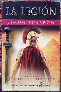 Portada del libro La legión, de Simon Scarrow