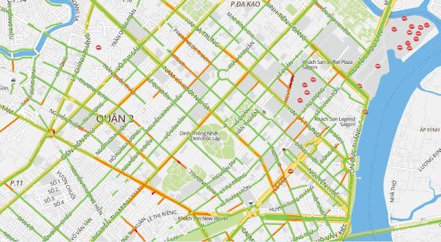 bản đồ giao thông