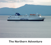 BC Ferries - Northern Adventure