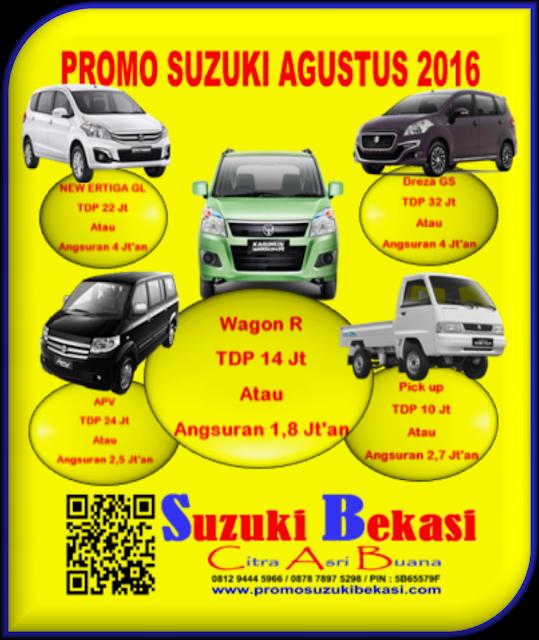 PROMO SUZUKI AGUSTUS 2016