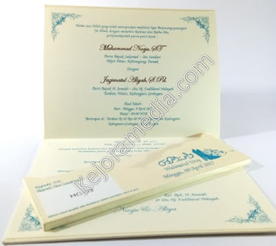 undangan pernikahan mewah dan harganya