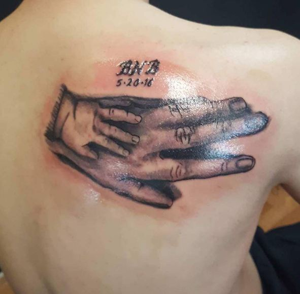 50 Best Father Tattoos Designs And Ideas To Dedicate To: 50+ Adorable Father Son Tattoos For Men (2018