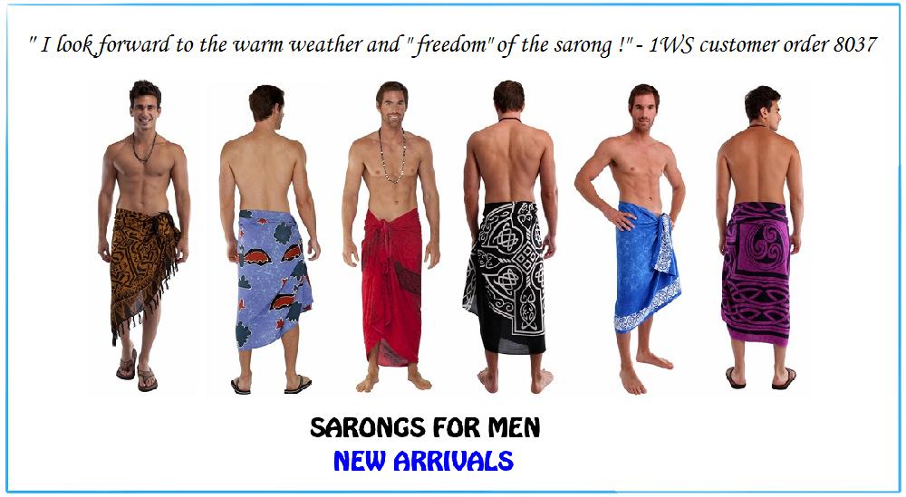 1 World Sarongs The Sarong Source Blog Sarongs For Men Forever Fashionable