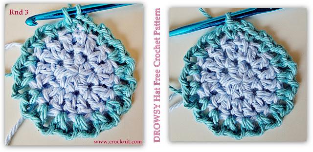 how to crochet, free crochet patterns, sleep hats, chemo caps, bald heads, beanies, hats,