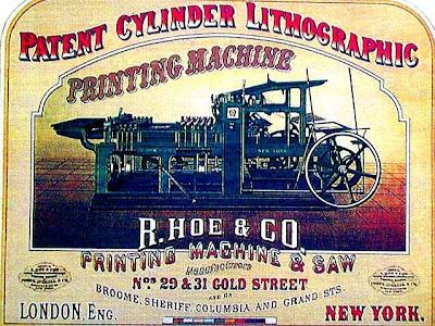 Cartel de la época victoriana
