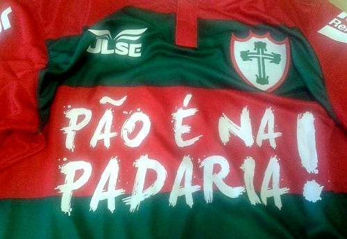 690b390927 O contrato com as panificadoras vai até o término da primeira fase do  Campeonato Brasileiro da Série C.