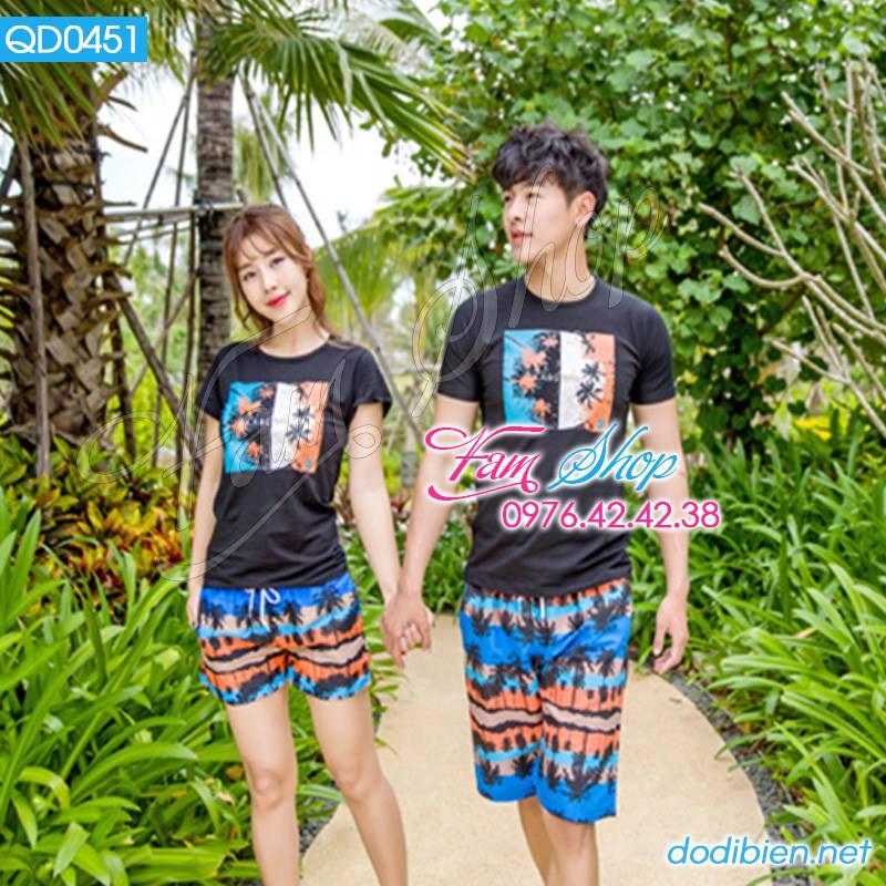 Cua hang do di bien tai Trang Tien