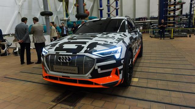 SUV da Audi, E-Tron, tem sua estreia adiada
