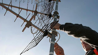 Cambios en antenas de television