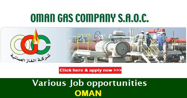Oman Gas Company Saoc Job Openings - Inspirational Interior