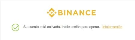 sesión login binance comprar monedas virtuales
