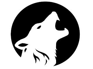 wolf Halloween Stencils