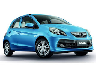 He's the Honda Brio Facelift, facial and a new Transmission