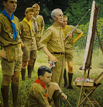 Norman Rockwell Boy Scout