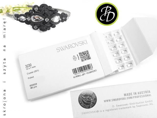 Luksusowa biżuteria z kryształami Swarovski Elements.
