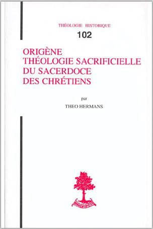 Origène Théo Hermann Théologie sacrificielle