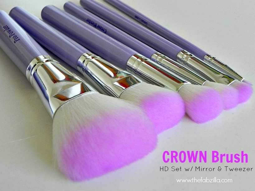 Review: Affordable Brushes from Crown Brush (HD Set with
