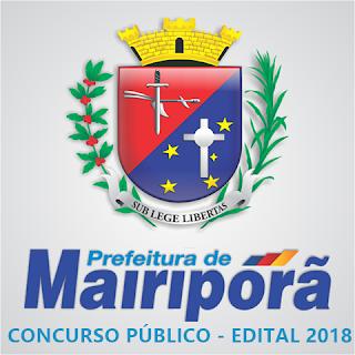 apostila concurso Prefeitura de Mairiporã 2018 - Todo os cargos