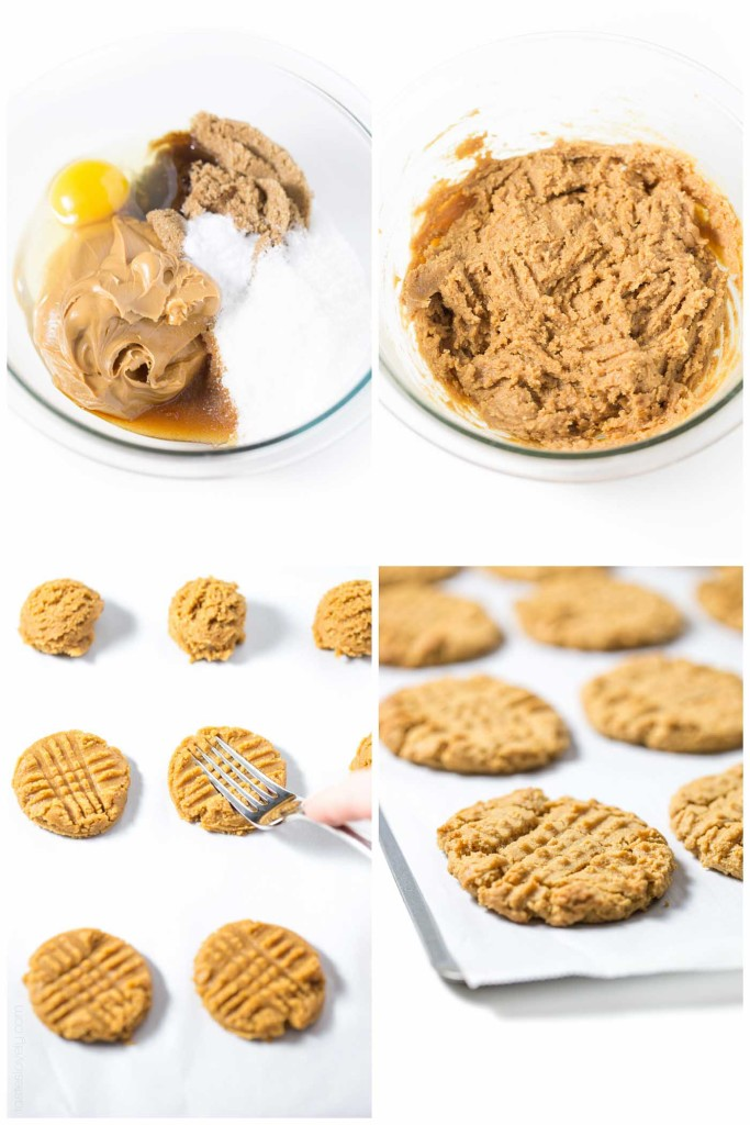 dairy free peanut butter cookies Recipe