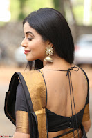 Poorna in Cute Backless Choli Saree Stunning Beauty at Avantika Movie platinum Disc Function ~  Exclusive 030.JPG