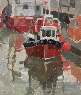 #209 'Salva Mea, Whitstable' 18x21cm