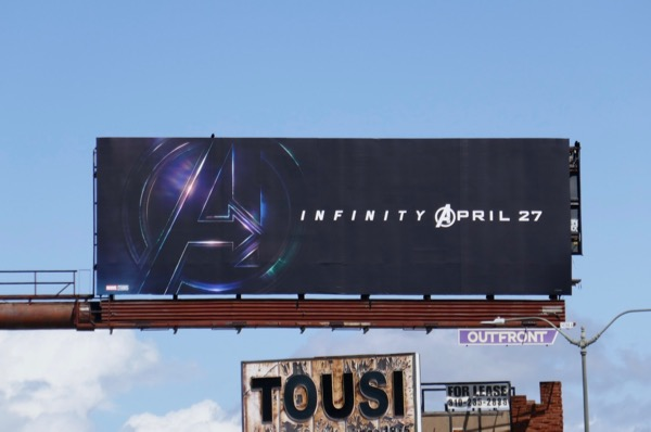 Avengers Infinity War teaser billboard