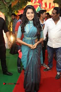 Actress Anupama Parameswaran Stills in Stylish Saree at Shatamanam Bhavathi Audio Launch  0053.JPG