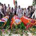 जौनपुर से १८५७ के शहीदों की क़ब्रों पे झंडा फहरा के शाही क़िले में श्रद्धांजलि दी गयी |