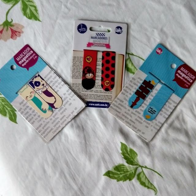 Recebidos do Mês: Artigos de Decoração da Loja Gorila Clube, marcador de livro, papelaria