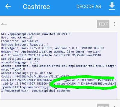 Kode bot packet capture
