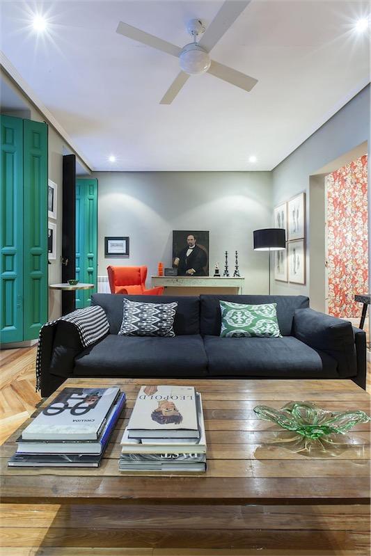 Un piso en Chueca Madrid chicanddeco