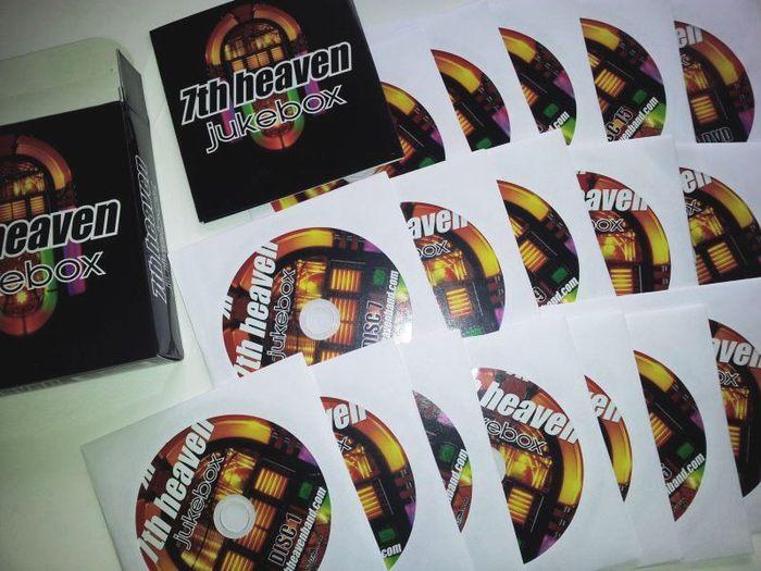 7th HEAVEN - Jukebox (15-CD release) CDs photo