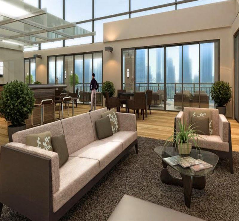 La Verti Residences Sky Lounge