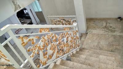 raling tangga untuk rumah mewah,besi tempa