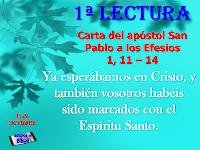 Resultado de imagen para efesios: 1, 11-14