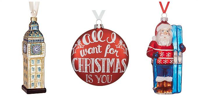 Lily loves Lola: Novemblog #12 - Christmas bauble wishlist (John Lewis, Toasted Glass ...