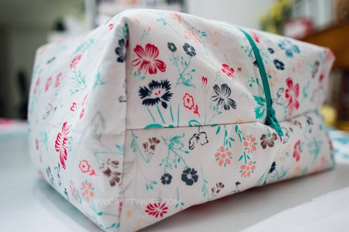 Sewing Tutorial cosmetic bag