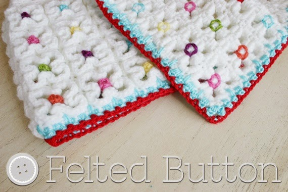 Crazy Good Mat and Blanket Crochet Pattern by Felted Button (Susan Carlson)