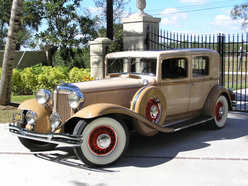 1931  CHRYSLER IMPERIAL model CG CLUB SEDAN The Chrysler Imperial  introduced in 1926  was Chrysler s top of the line  vehicle for much of its history  Models were produced with the Chrysler  name until