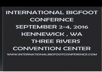 International Bigfoot Conference 2016
