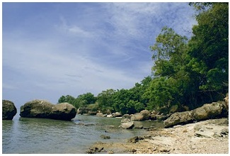 wisata madura bangkalan pantai rongkang wisata di bangkalan