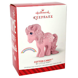 MLP Cotton Candy Hallmark Keepsakes G1 Retro Pony