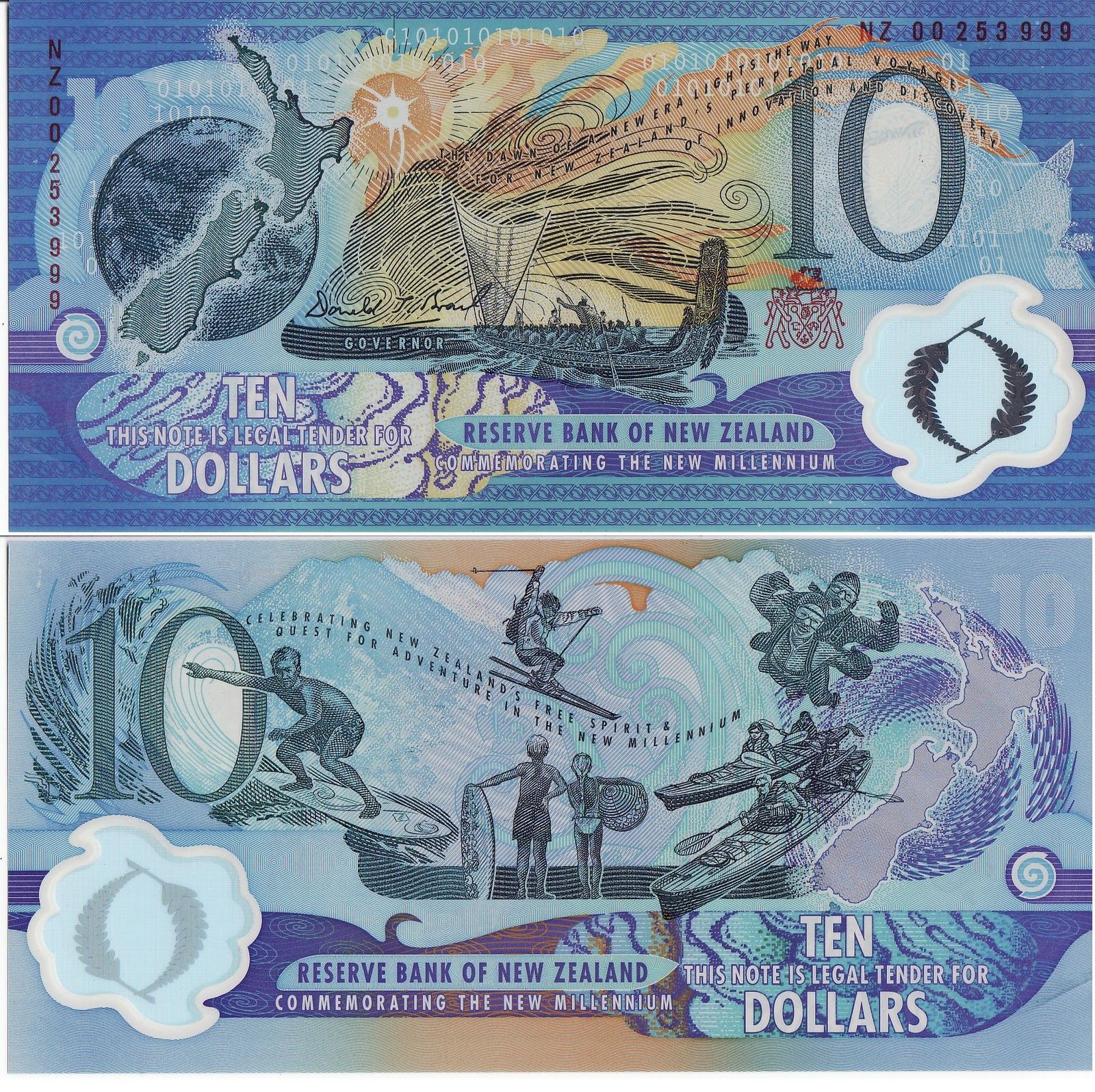bank notes New zealand's banknotes have been signed by the governor of the reserve  bank, or by the chief cashier, a post that existed until the early 1980s eleven.