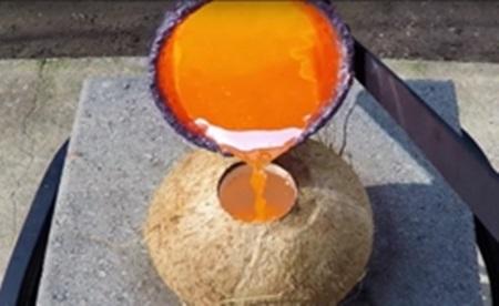 Molten Copper vs Coconut